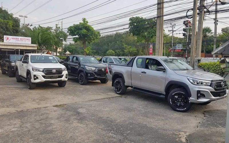 Toyota Revo Exporters Thailand, 4x4 Rocco Hilux for Sale